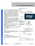 TD-9244-000-ITA - Kit per saldatura alluminotermica