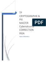 TP-Cryptographie & PKI V1 Avec Correction