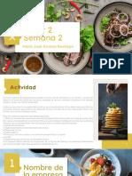 Taller 2- semana 2 Servicios Gastronomicos