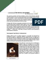Caravaggio and Sexual Adjustmentfinal