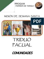 Misión Semana Santa Tarqui