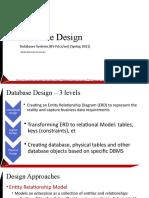 Lec3- Relational Database Design ERD
