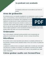 Cómo grabar tu podcast con acabado profesional.pdf