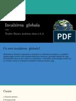 Incalzirea globala (1)