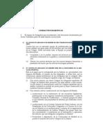 Líneas programáticas del Equipo Cremades para el ICAM [www.equipocremades.com]