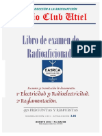 Libro de Examen Radioaficionado