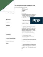 ANEXO XXVIII Estructura del reporte final R P