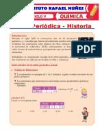 CLASE # 3 - LA TABLA PERIODICA Y SU HISTORIA