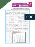 CLASE # 5 - CONFIGURACIÓN ELECTRÓNICA