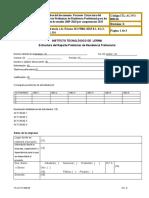 ITL-AC-PO-008-06 ESTRUCTURA DEL PROYECTO2015