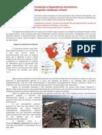 Geografia_Balanca Comercial e Dependencia Economica