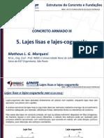 Dimensionamento e Detalhamento de Lajes Lisas