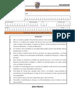 IV SIMULADO DA POLÍCIA MILITAR - 29  DE JULHO