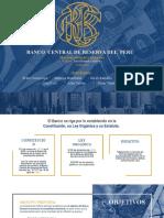 Análisis del Banco Central de Reservas del Perú