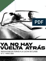 Ya no hay vuelta atras N°3 (May-2020)
