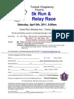 Chaplaincy Run Entry Form 2011[1]