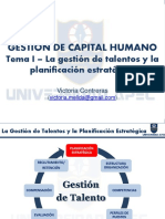 I.2 La Planificación Estratégica Como Punto de Partida de La Gestión de Talentos