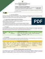 MATERIAL COMPLEMENTARIO DE APRENDIZAJE 6° - LENGUAJE Y COMUNICACIÓN
