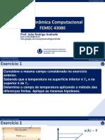 05-Aerod Comp - Diferenças Finitas - Exercício