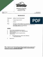 Jefferson County Planning Board agenda March 30