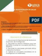 Clase 4_ Ética en La Investigación en Salud