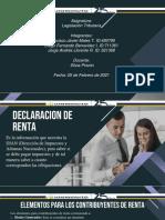 Declaracion de Renta 2021