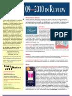 2009.2010 MP Newsletter