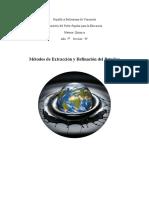 Métodos de Extracción y Refinación del Petróleo