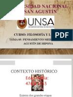 Tema 5 Pensamiento Medieval - San Agustín