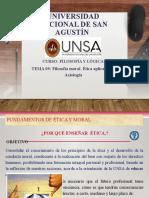 TEMA 9 - ÉTICA Y AXIOLOGÍA