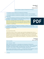 Planejamento Estratégico para Organizações Públicas - Módulo 1