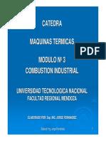 Módulo Nº 3 Combustión Industrial