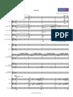 orchestra-mozart-medley-de-rosa-Partitura-e-parti