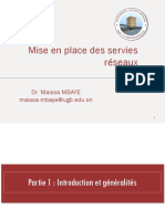 Mise en places des services réseaux - Partie 1 - interfaces reseaux