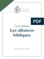 10 Les Alliances Bibliques