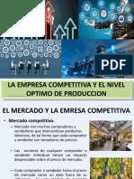 La empresa competitiva