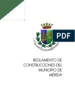 ReglamentodeConstruccionesdelMunicipiodeMerida2003