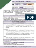 Marzo - 4to Grado Geografía (2020-2021)
