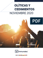 Policies-and-Procedures IMMUNOTEC