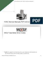 Wolf - Error Codes