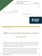 William Carey y la chispa de las misiones modernas