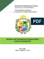 Manual de Meet