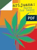 TEENS Marijuana Brochure