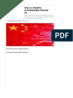 A Ascensão da China e o Império Americano, por por Embaixador Samuel Pinheiro Guimarães _ GGN