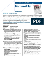 Learning English March 2011 Lower Intermediate Classroom Materials