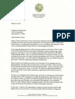 CFO Patronis Letter to Trump 3.25.21