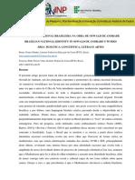 IDENTIDADE NACIONAL BRASILEIRA NA OBRA DE OSWALD DE ANDRADE - RESUMO PRONTO