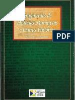 Fragmentos de Histórias Municipais e Outras Histórias (Sebrão Sobrinho, 2001)