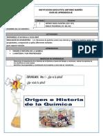 GUIA # 3 CIENCIAS NATURALES GRADO 6