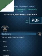 PUENTES - Parte 1 - Definición, Historia, Partes y Clasificación - Con Ejercicio